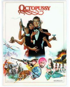 Octopussy 1983 James Bond 007 original movie program