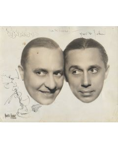 Olsen and Johnson Vintage 8X10 photo