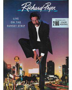 Richard Pryor Live on the Sunset Strip (1982) original movie program