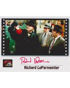 Richard LeParmentier Who Framed Roger Rabbit Original Autographed 8x10 Photo July 16,1946- April 15, 2013