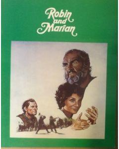 Robin and Marian (1976) original movie program