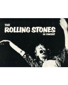 The Rolling Stones original concert program