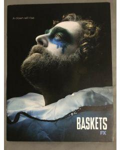 BASKETS Series FX Season 1 One FYC Press Kit Book + DVD Ep. 101-105 2016 Promo
