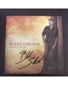 Blake Shelton Signed Promo For Your Consideration Book