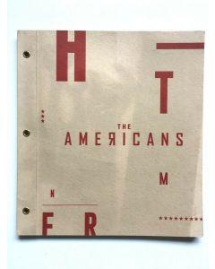 THE AMERICANS Season 4 FYC Press Kit Book + DVD Ep. 101-104 FX Series 2015 Promo