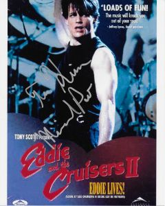 Michael Pare Eddie and the Cruisers 8X10 (personalized to Kim)