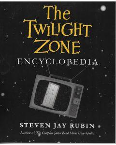 Twilight Zone Encyclopedia BOOK signed by author Steven Jay Rubin