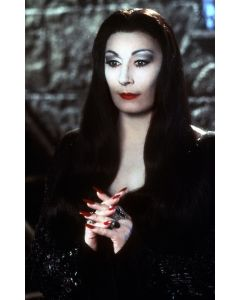 """Private Signing """"Anjelica Huston The Addams Family 11"""""""