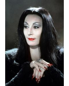 """Private Signing """"Anjelica Huston The Addams Family 12"""""""