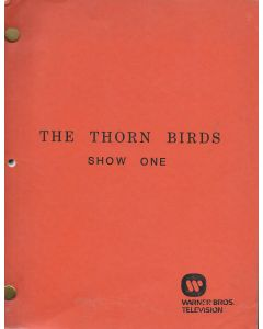 The Thorn Birds (1983) Miniseries Original Script (4 parts)
