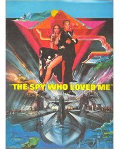 The Spy Who Loved Me 1977 James Bond 007 original movie program