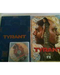 TYRANT SEASON 2 FX PROMO PRESS KIT 4-COLOR BOOK DVD EPISODES