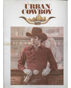 Urban Cowboy (1980) original movie program