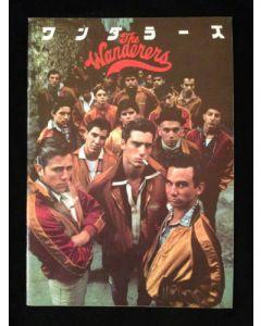 The Wanderers (1979) original Japanese movie program ***LAST ONE***