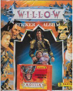 Willow (1988) sticker album